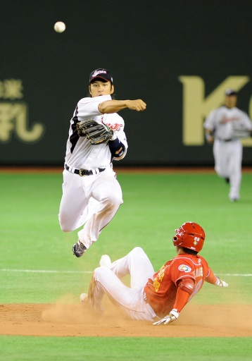 BASEBALL-WORLD-ASIA-JPN-CHN