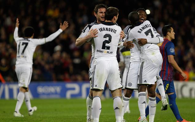 Chelsea won, Barça lost :D